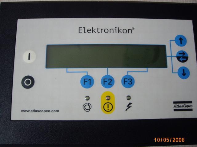 阿特拉斯空压机控制面板图片