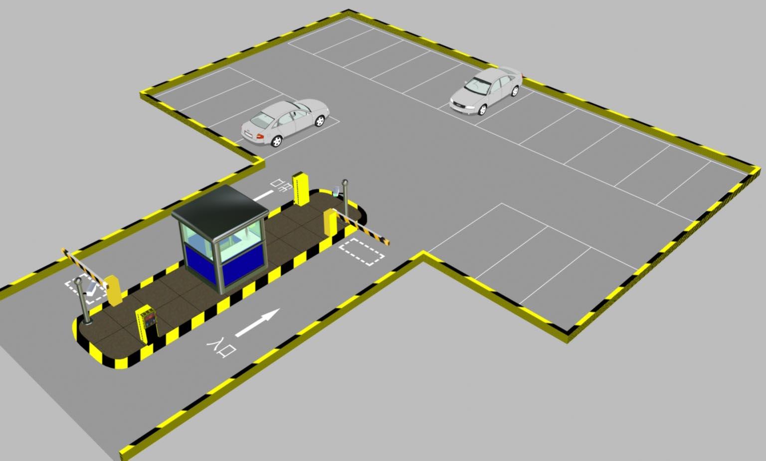 停车场系统图片 停车场系统样板图 绍兴停车场系统丨金华