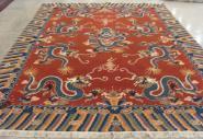 古董羊毛地毯图片
