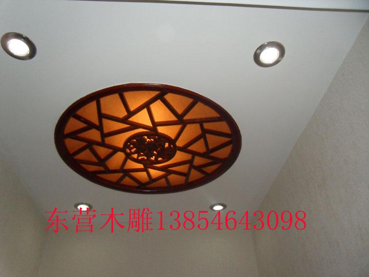 木雕灯图片