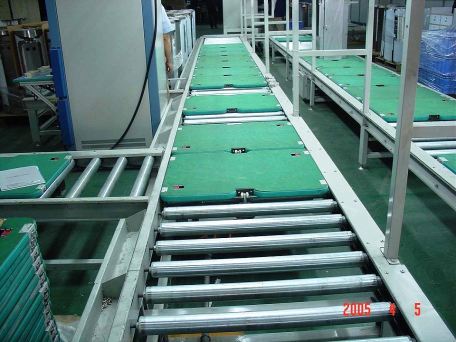 供应深圳沙井手推装配线电器组装线工装板维修图片