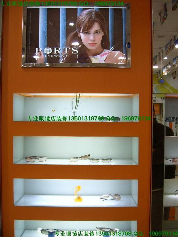 眼镜柜台眼镜柜台制作图片