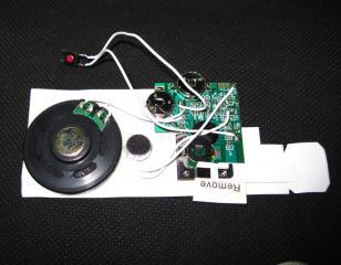 10秒录音机芯图片
