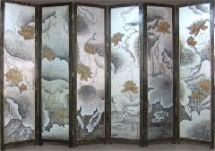 北京墙绘北京彩绘北京漆画