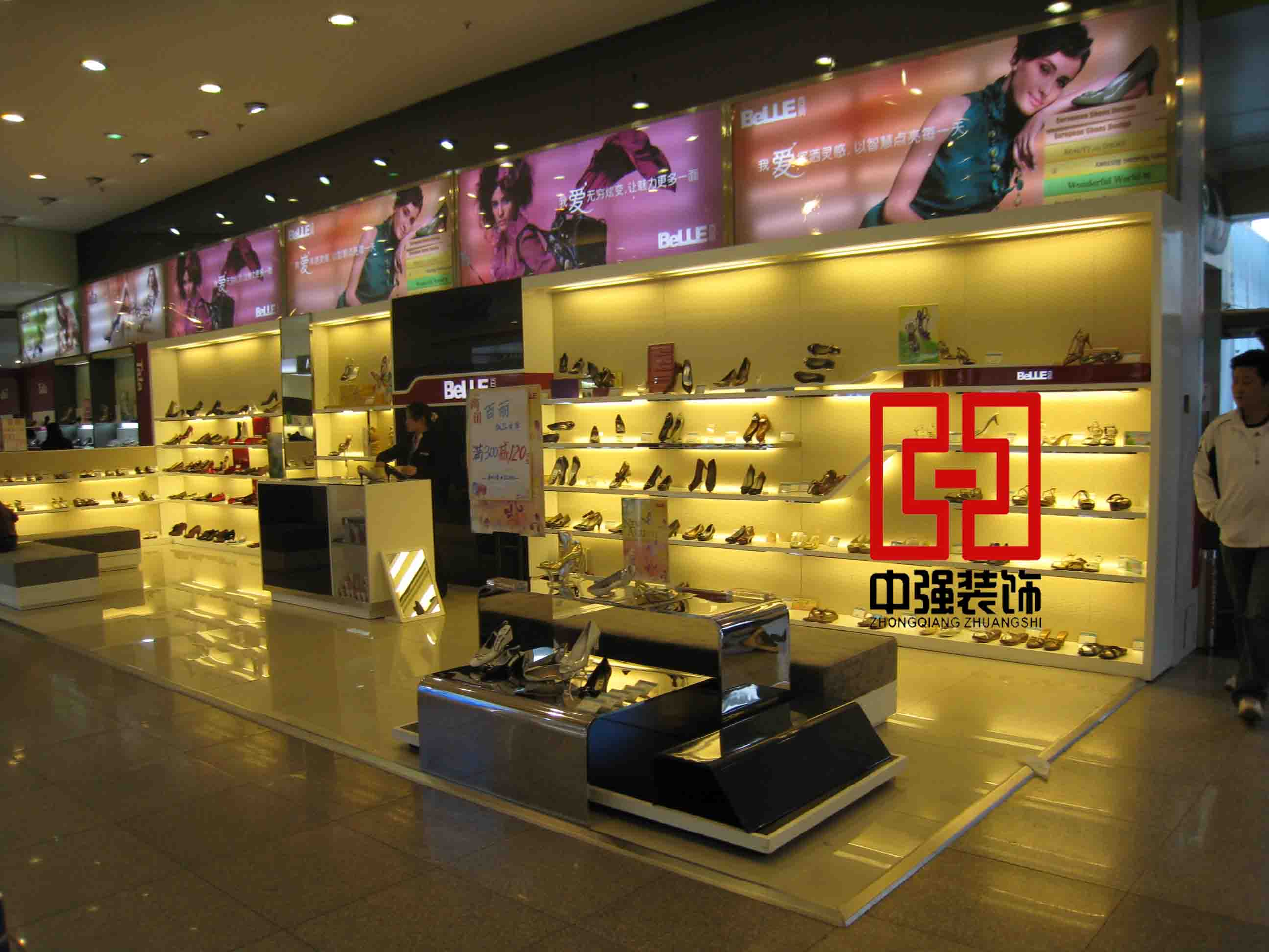 供应南京皮鞋展柜