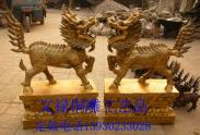 唐县铜雕麒麟厂图片