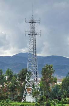 电力角钢塔钢管塔图片
