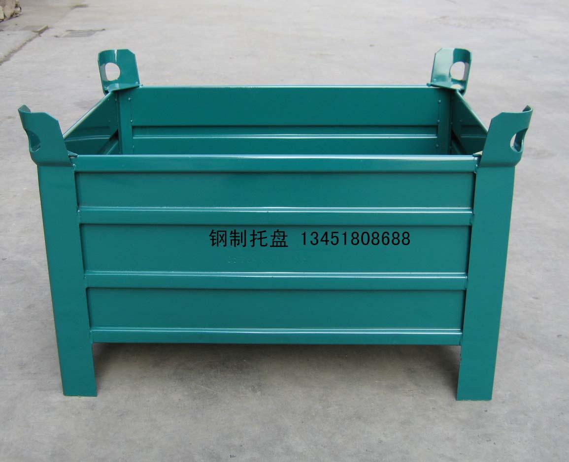 供应内蒙古钢制料箱钢料箱料箱内蒙古仓储设备1345180批发