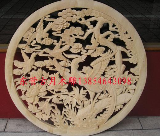 东营古月木雕香樟木雕刻图片