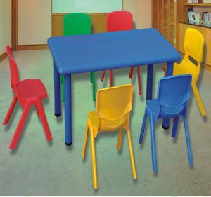 供应幼儿园塑料桌椅人体工学桌椅批发