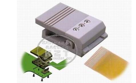 弹夹式fpc测试座产品描述:   弹夹式fpc测试座,适用于集成电路的测试