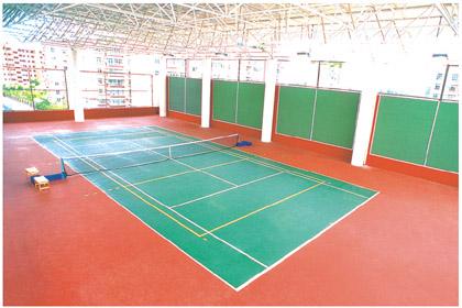 供应网球场地地板网球场专用地胶;网球馆专用地板