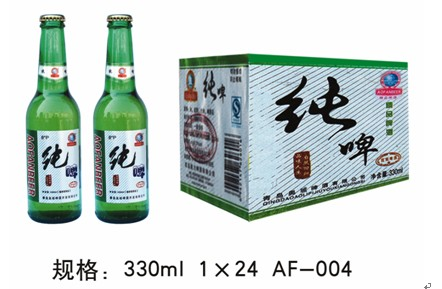 湖南青岛纯生啤酒图片