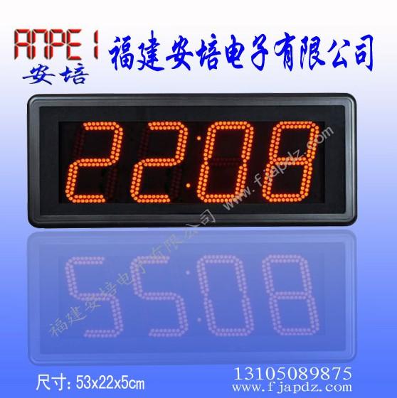 电子时钟led数码管电路图