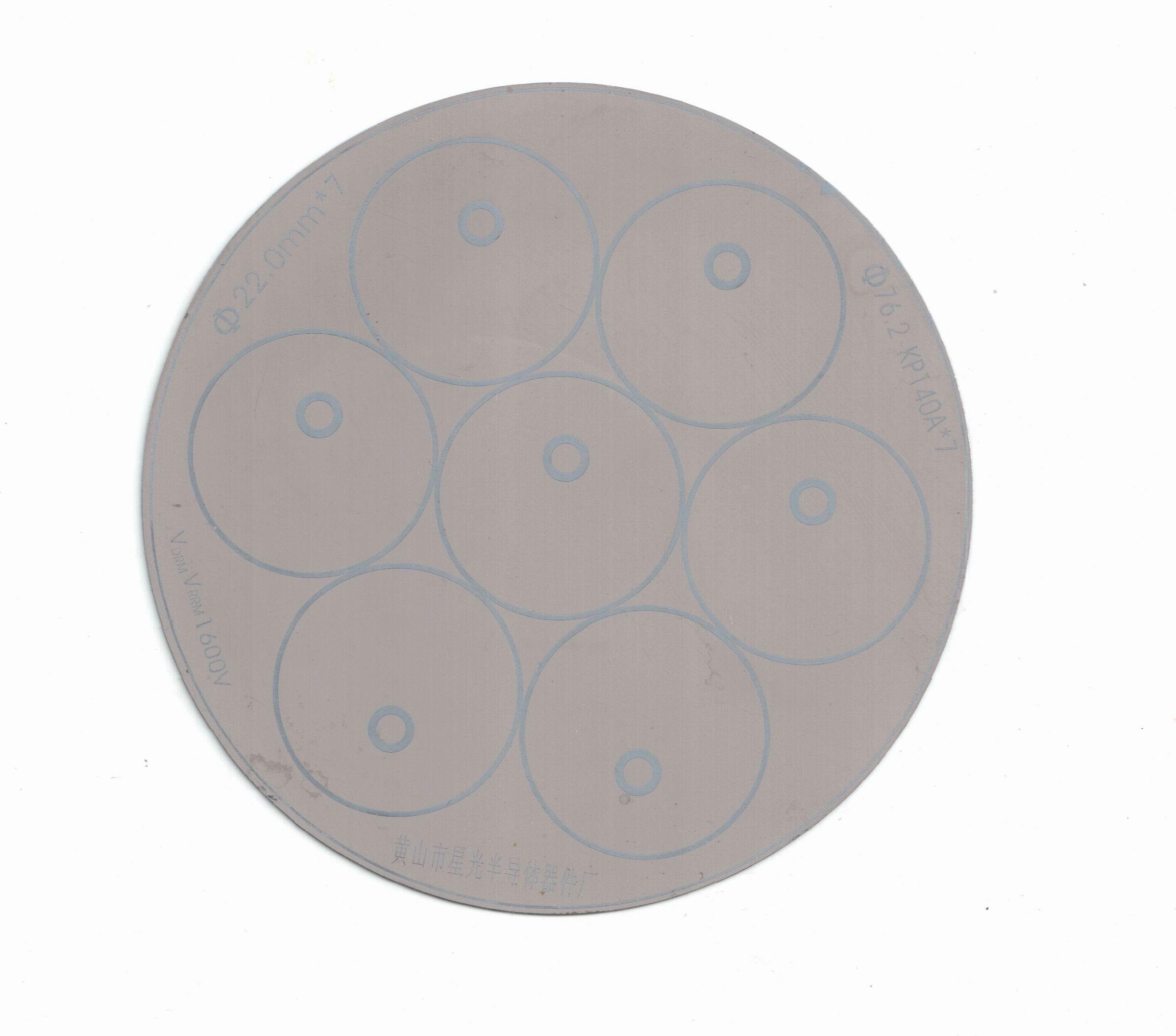 可控硅芯片图片 可控硅芯片样板图 电焊机用可控硅芯片KP...