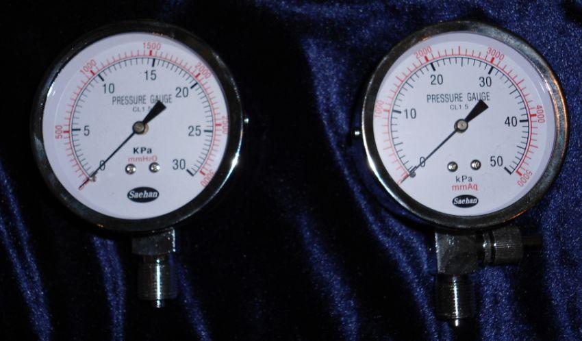 供应气体压力表