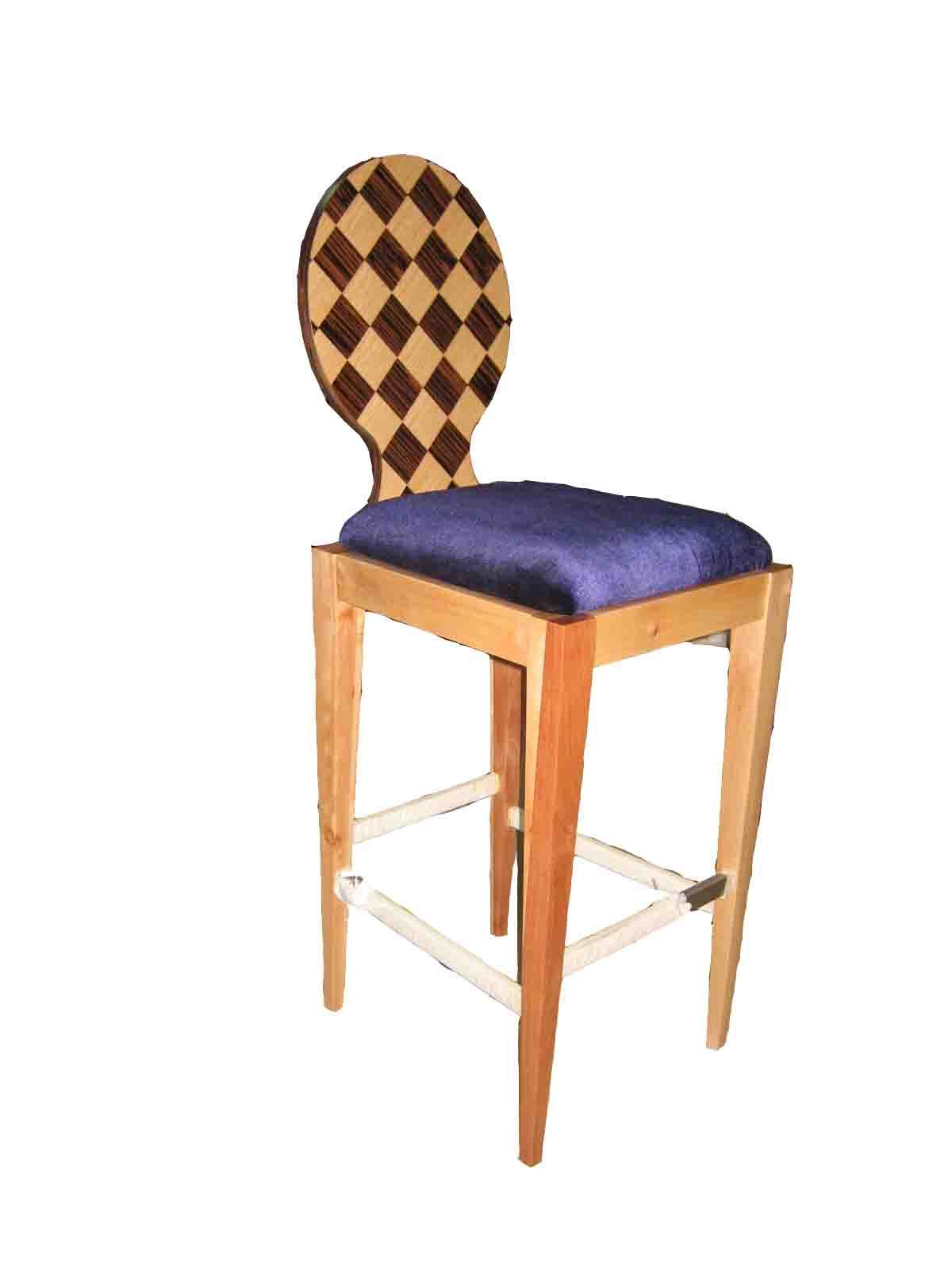 供应美式家具 实木椅 实木吧椅 酒吧椅dp2507