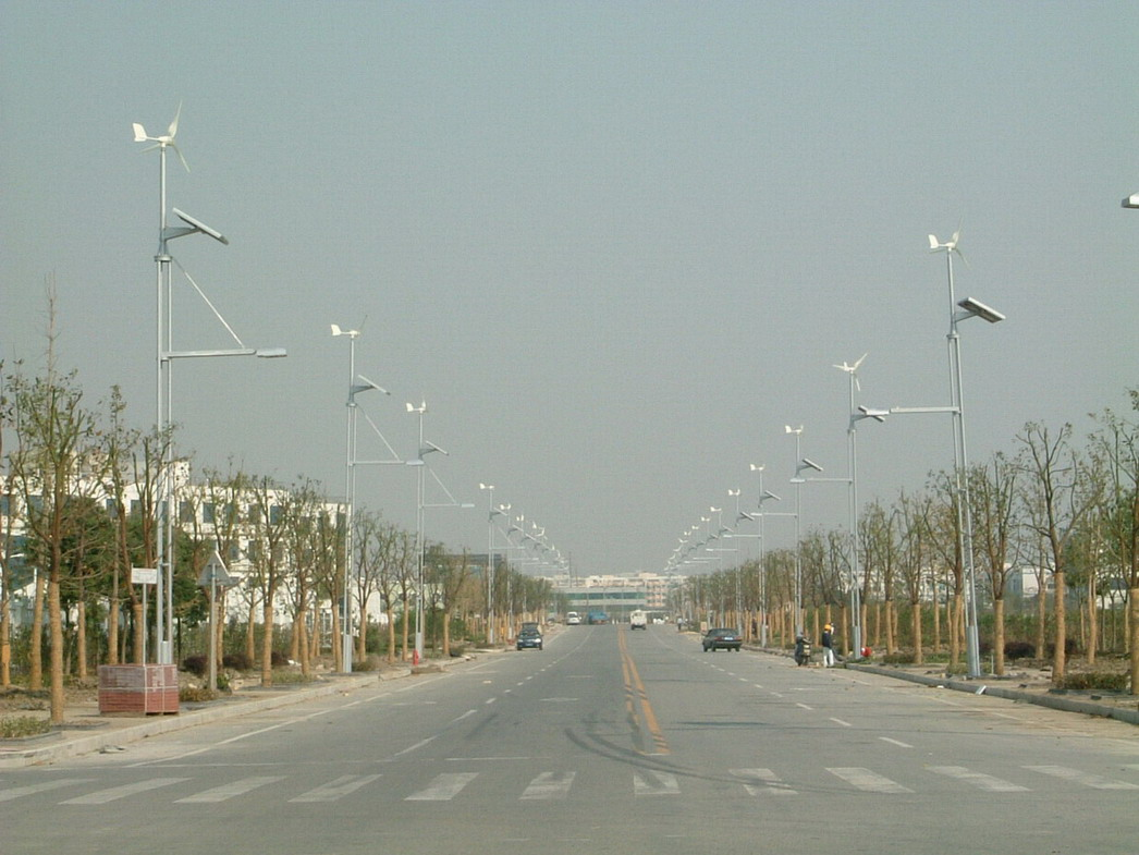风光互补太阳能路灯,市电互补太阳能路灯
