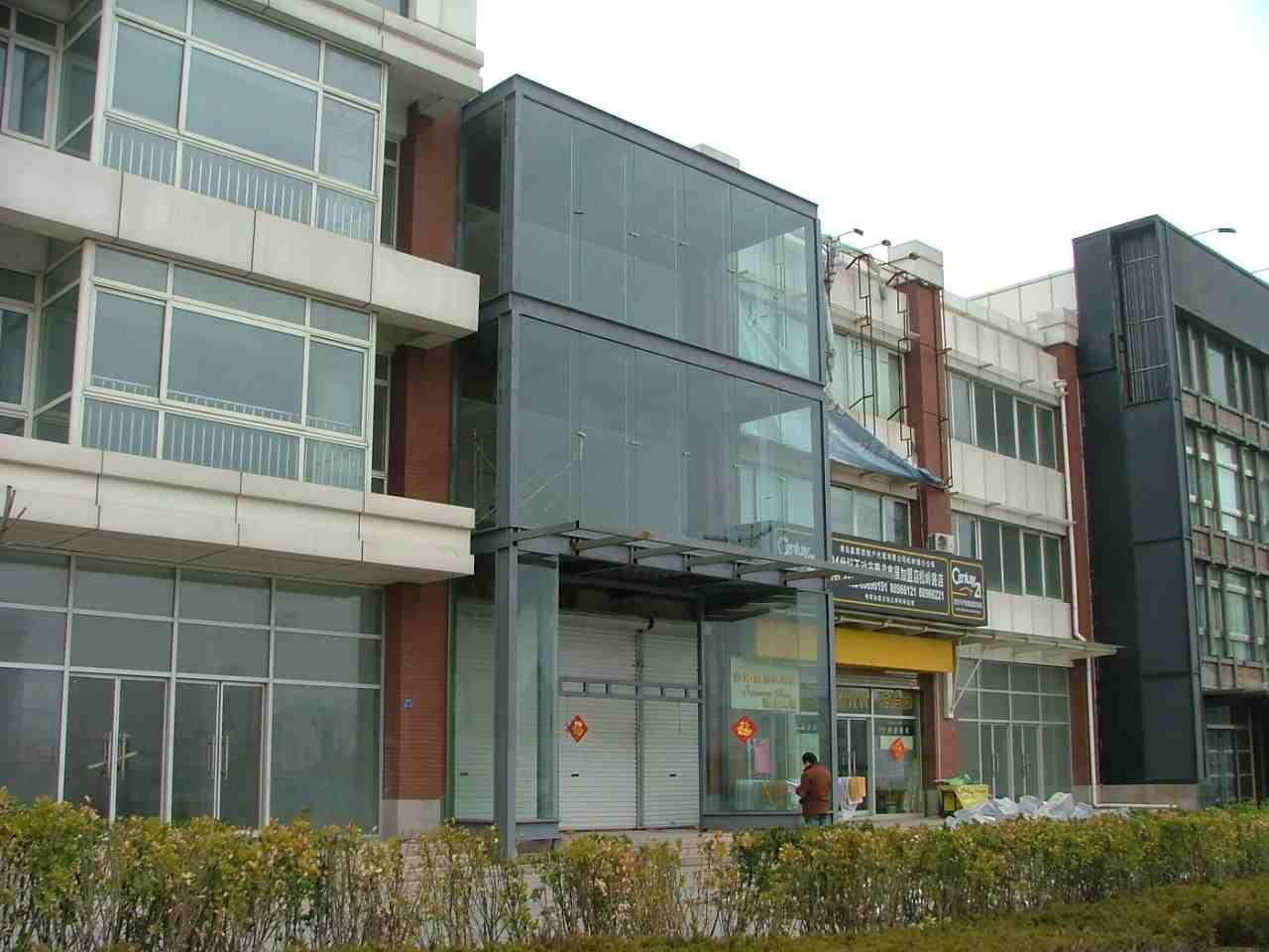 供应青岛室外钢结构设计装修施工公司 青岛钢结构门头设计装修公司批发