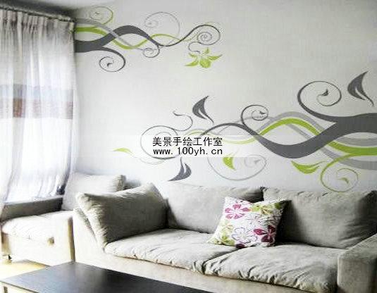 墙绘图片手绘墙图片墙体彩绘图图片
