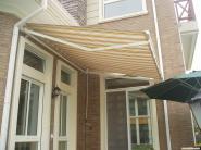 曲臂式伸宿遮阳雨篷图片