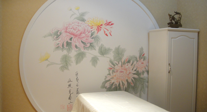 合肥手绘儿童房电视墙端景墙背景墙