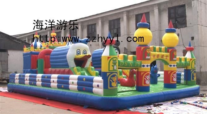 供应郑州儿童充气城堡充气玩具充气蹦蹦广场充气城堡