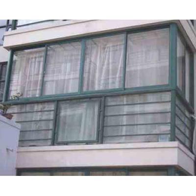 苏州铝合金封阳台门窗图片