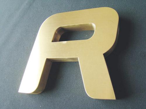 供应制作钛金字 铜字