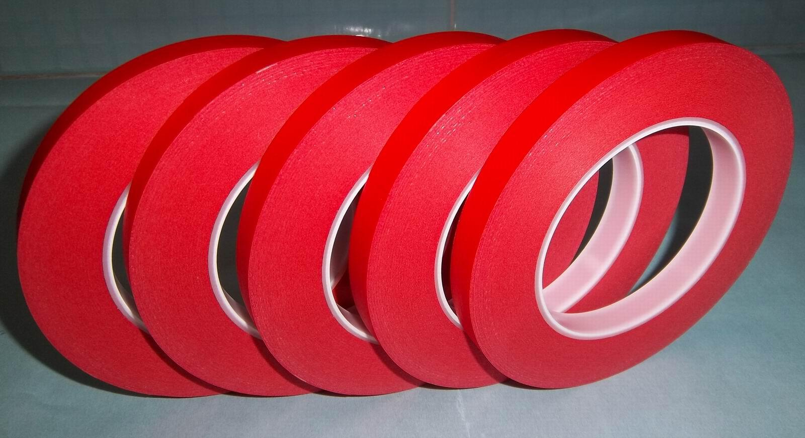 供应耐高温pcb红色美纹胶纸