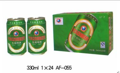 广州青岛易拉罐啤酒系列报价