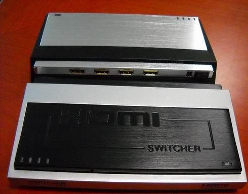 切换器图片 切换器样板图 HDMI切换器三切一三进一出 深圳...