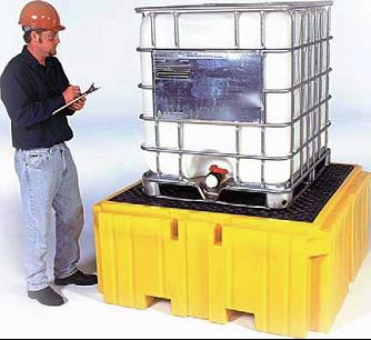 重型集装桶防渗漏托盘图片