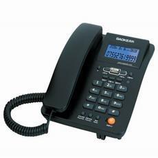 供应房产中介推荐办公专用电话机黑色批发