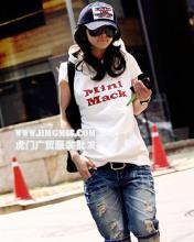 厂价直销日韩系服装批发厂价直销T恤夏季T恤批发