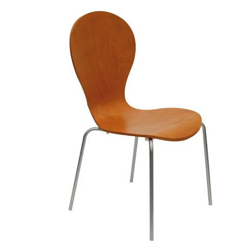 供应快餐厅曲木餐椅