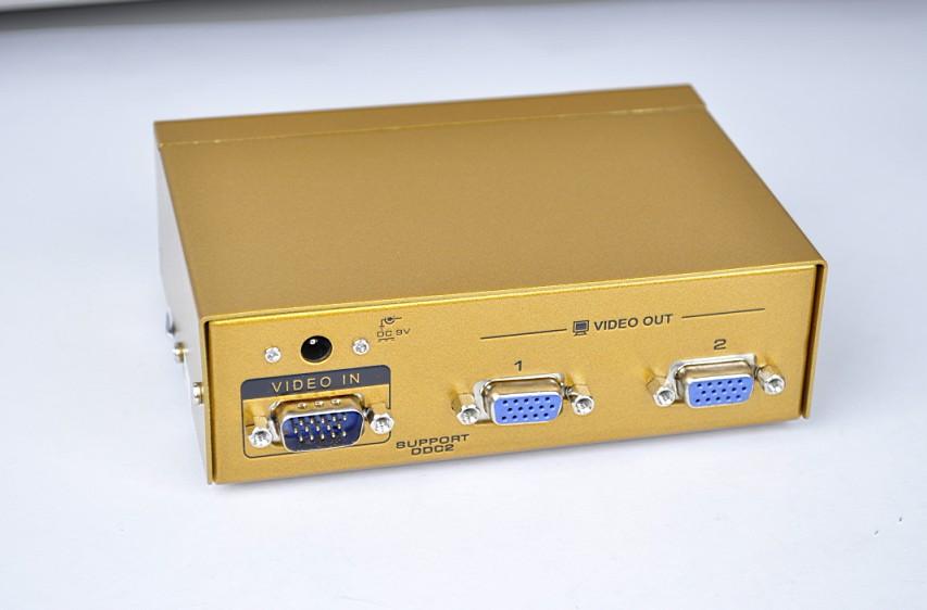 VGA分配器图片 VGA分配器样板图 厂家批发350MHzVGA...