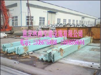 供应重庆高速公路波形梁防撞护栏板护栏批发