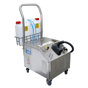 供应乐捷专业汽车美容高压蒸汽清洗机  高温饱和蒸汽清洗机图片