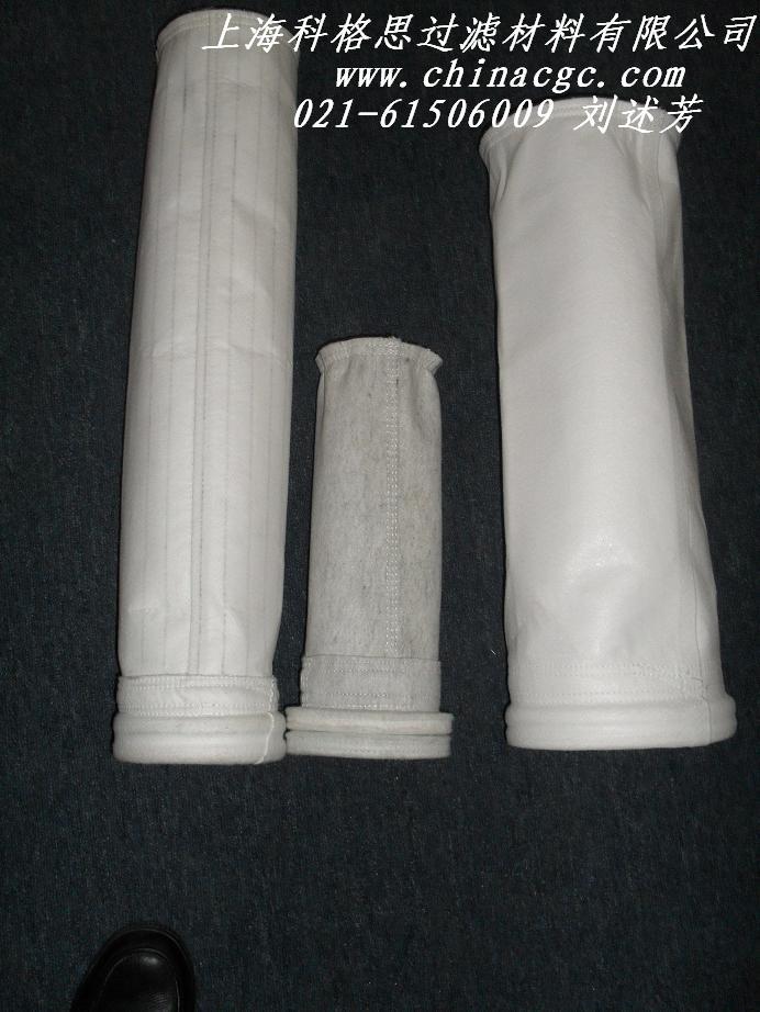 供应涤纶三防布袋粉尘收集滤袋图片