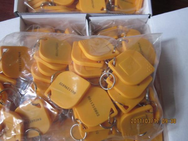 供应正品芒果15号ID钥匙扣卡考勤卡 门卡 mango标志批发