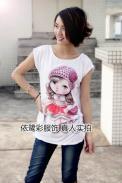 厂家最流行冰丝T恤批发市场图片