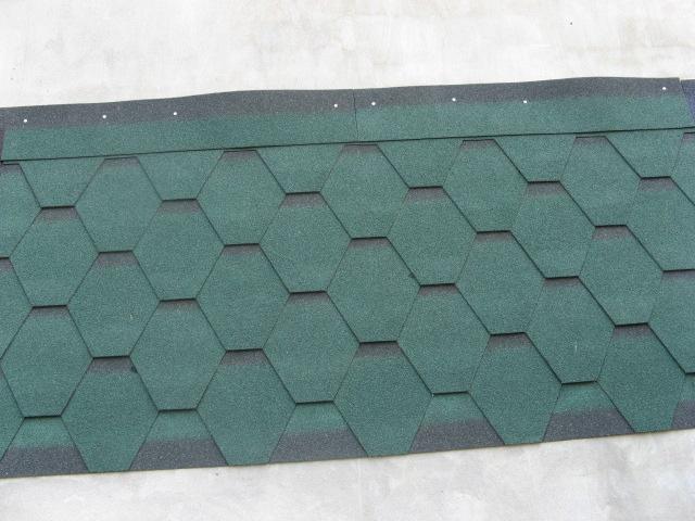 供应马赛克六角沥青瓦玻纤瓦油毡瓦多彩瓦屋面瓦,玻纤瓦图片-沥青