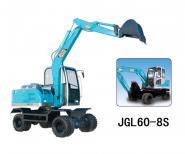 四轮驱动挖掘机360度小型挖掘机图片