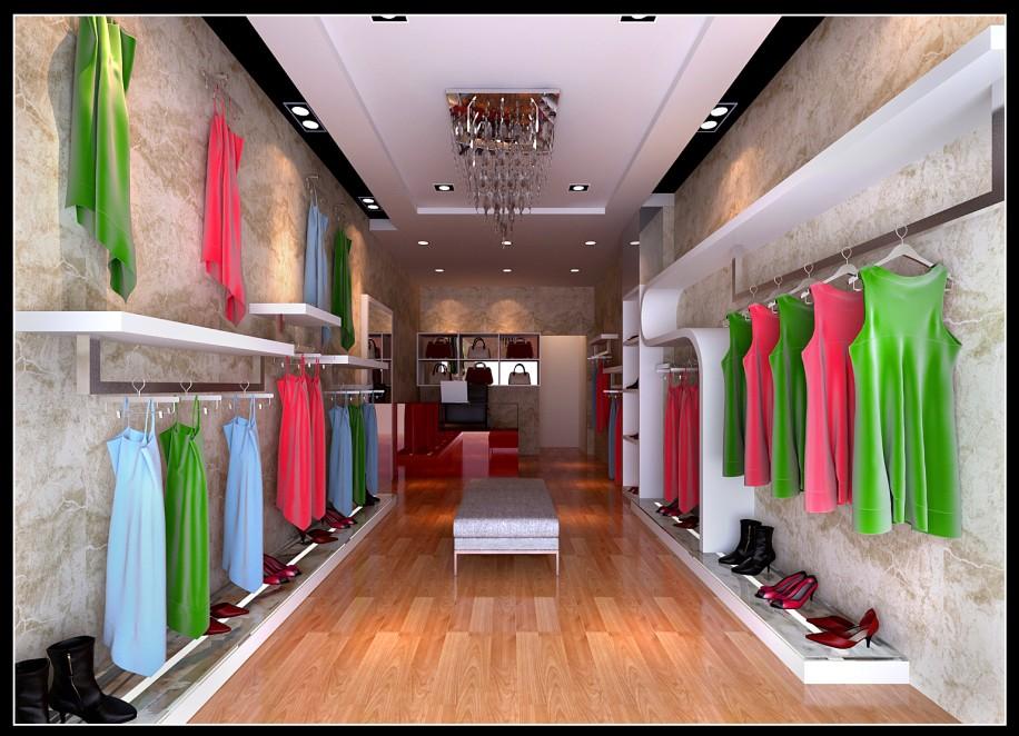 服装店设计图片|服装店设计样板图|服装店设计效果图