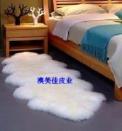 西安羊毛毯羊毛沙发垫图片
