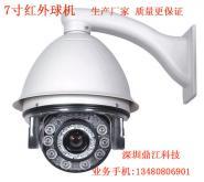 7寸红外智能高速球摄像机540线图片