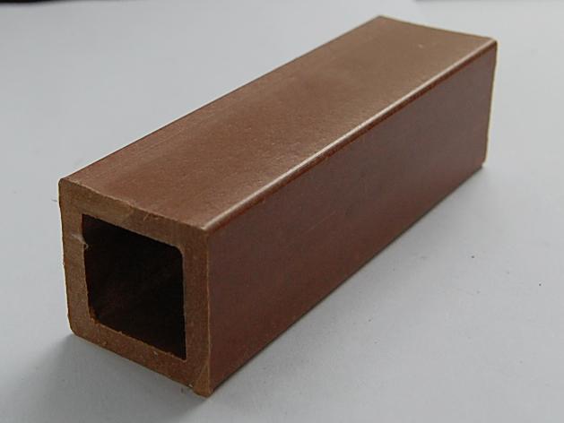 供应山东绿森塑木栏杆小方管