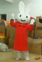 供应喜洋洋卡通服装卡通玩具服装兔子