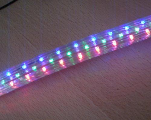 供应LED扁四线彩虹管